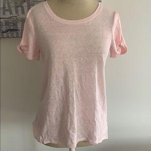 Athleta Linen T Shirt